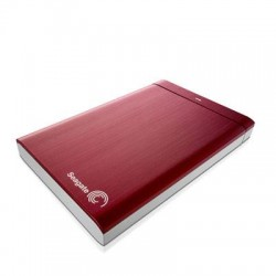 Seagate - STBU1000103 - Seagate Backup Plus STBU1000103 1 TB 2.5 External Hard Drive - USB 3.0 - Red - Retail
