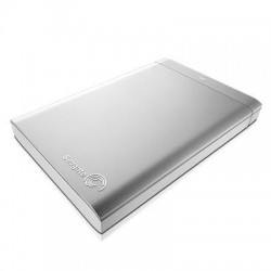 Seagate - STBW500100 - Seagate Backup Plus STBW500100 500 GB 2.5 External Hard Drive - USB 2.0 - Silver, White - Retail