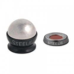 Nite-Ize - STCK-11-R8 - Nite Ize Steelie Car Mount Kit - Vertical, Horizontal - 1.1 - Aluminum, Steel, Silicon - 1 Unit