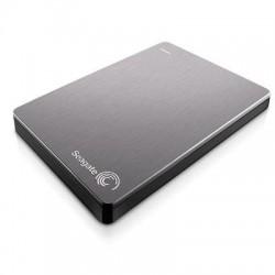 Seagate - STDR1000101 - Seagate Backup Plus STDR1000101 1 TB 2.5 External Hard Drive - Portable - USB 3.0 - Silver