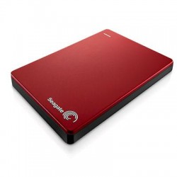 Seagate - STDR1000103 - Seagate Backup Plus STDR1000103 1 TB 2.5 External Hard Drive - Portable - USB 3.0 - Red