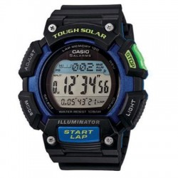 Casio - STLS110H-1B2 - Mens Black Digital