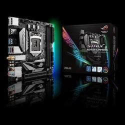 Asus - Rog Strix B250i Gaming - Asus Strix B250i Gaming Lga1151/ Intel B250/ Ddr4/ Sata3&usb3.0/ M.2/ Wifi/ A&gbe/ Mini-itx Motherboard