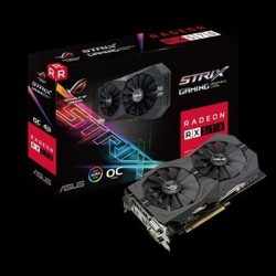 Asus - ROG-STRIX-RX570-O4G-GAMIN - Outshine The Competition With The Aura Sync Rgb Capable Rog Strix Rx 570 4g Oc E
