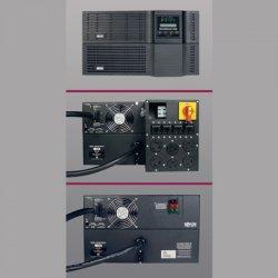 Tripp Lite - SU8000RT3U - Tripp Lite UPS Smart Online 8000VA 7200W Rackmount 8kVA 200V-240V USB DB9 Manual Bypass Hot Swap 6URM - 8000VA/6400W - 6 Minute Full Load - 4 x NEMA L6-20R, 2 x NEMA L6-30R