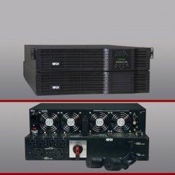 Tripp Lite - SU8000RT4U - Tripp Lite UPS Smart Online 8000VA 5600W Rackmount 8kVA 120V-240V USB DB9 Manual Bypass Hot Swap 4URM - 8000VA/5600W - 5 Minute Full Load - 2 x NEMA L6-30R, 2 x NEMA L6-20R, 4 x NEMA 5-15/20R