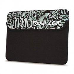 Mobile Edge - SUMO-IPADSG1 - SUMO Graffiti iPad Sleeve (Black) - Sleeve - Neoprene - Black