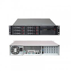 Supermicro - SYS-5026T-TB - Supermicro SuperServer 5026T-TB Barebone System - Intel X58 Express - Socket B - Core i7 (Quad-core), Core i7 Extreme Edition (Quad-core) - 24GB Memory Support - 2U Rack