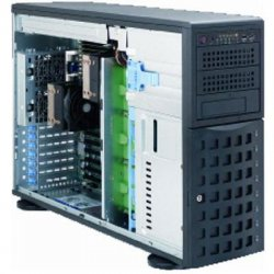 Supermicro - SYS-7046T-H6R - Supermicro SuperServer 7046T-H6R Barebone System - Intel 5520 - Socket B - Xeon (Dual-core), Xeon (Quad-core) - 96GB Memory Support - Gigabit Ethernet - 4U Tower