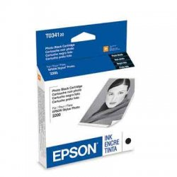 Epson - T034120-AL - Epson Black Ink Cartridge - Inkjet - Black