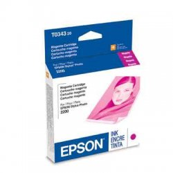 Epson - T034320 - Epson Original Ink Cartridge - Inkjet - 440 Pages - Magenta - 1 Each