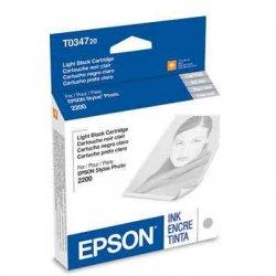Epson - T034720 - Epson Original Ink Cartridge - Inkjet - 628 Pages - Light Black - 1 Each