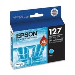 Epson - T127220 - Epson DURABrite Original Ink Cartridge - Inkjet - Cyan - 1 Each