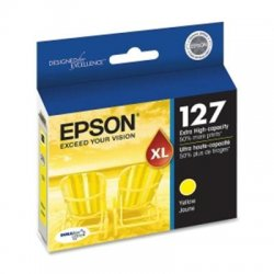 Epson - T127420 - Epson DURABrite High Capacity Ink Cartridge - Inkjet - 1 Each