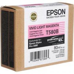 Epson - T580B00 - Epson UltraChrome K3 Ink Cartridge - Inkjet - 1 Each