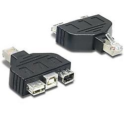 TRENDnet - TC-NTUF - TRENDnet USB / FireWire Adapter for TC-NT2 - USB, FireWire