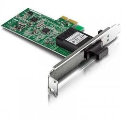 TRENDnet - TE100-ECFX - TRENDnet TE100-ECFX Fast Ethernet Card - PCI Express - 1 Port(s) - 1 x SC Port(s) - Optical Fiber