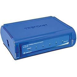 TRENDnet - TE100-S5 - TRENDnet TE100-S5 5-port Fast Ethernet Switch - 5 x 10/100Base-TX