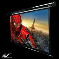 "Elite Screens - TE84VW2 - Elite Screens TE84VW2 CineTension2 Ceiling/Wall Mount Electric Tensioned Projection Screen (84"" 4:3 Aspect Ratio) (CineWhite) - 50"" x 67"" - CineWhite - 84"" Diagonal"