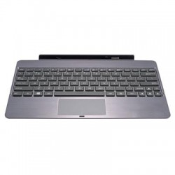 Asus - TF600T-DOCK-GR - Asus Mobile Dock - Docking - Gray - Docking PortTouchPad - Tablet - QWERTY - Card Reader Built-in