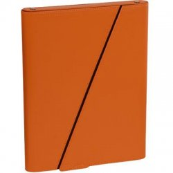 "Targus - THZ02101US - Targus THZ02101US Carrying Case (Sleeve) for iPad - Orange, Brown - Leather - 7.9"" Height x 10.1"" Width x 1.8"" Depth"