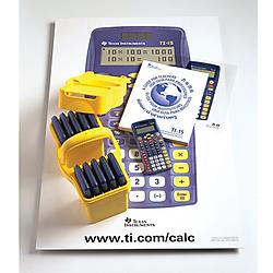 Texas Instruments - TI15TK - Texas Instruments Financial Calculator - 2 Line(s) - 11 Digits - Battery/Solar Powered