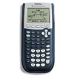 Texas Instruments - 84PL/TBL/1L1/A - Texas Instruments TI-84 Plus - Impact Resistant Cover, Battery Backup - 480 KB, 24 KB - ROM, RAM - 8 Line(s) - 16 Digits - Battery Powered - 4 - AAA