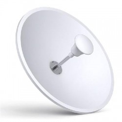 TP-LINK - TL-ANT2424MD - TP-LINK 2.4GHz 24dBi 2 2 MIMO Dish Antenna - 2.30 GHz to 2.70 GHz - 24 dBi - Outdoor, Wireless Data NetworkPole - Directional - RP-SMA Connector