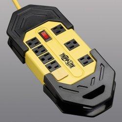 Tripp Lite - TLM825GF - Tripp Lite Safety Power Strip 120V 5-15R 8 Outlet Metal 25' Crd GFCI Plug - NEMA 5-15P - 8 NEMA 5-15R - 25ft
