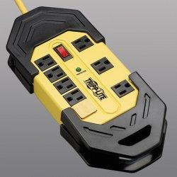 Tripp Lite - TLM825SA - Tripp Lite Safety Surge Protector 120V 8 Outlet Metal 25' Cord OSHA - Receptacles: 8 x NEMA 5-15R - 3900J