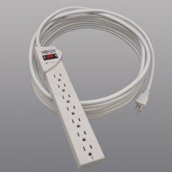 Tripp Lite - TLP725 - Tripp Lite Surge Protector Power Strip 120V 7 Outlet 25' Cord 1080 Joule - 7 x NEMA 5-15R - 1800 VA - 1080 J - 120 V AC Input - 120 V AC Output