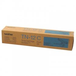 Brother International - TN12C - Brother TN12C Toner Cartridge - Laser - 6000 Pages - Cyan - 1 Each