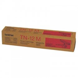 Brother International - TN12M - Brother 12M Magenta Toner Cartridge - Laser - 6000 Page - 1 Each