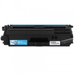 Brother International - TN336C - Brother Genuine TN336C High Yield Cyan Toner Cartridge - Laser - High Yield - 3500 Pages - Cyan - 1 Each