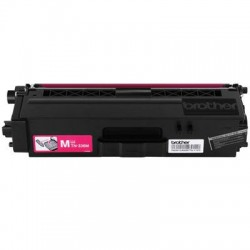 Brother International - TN336M - Brother Genuine TN336M High Yield Magenta Toner Cartridge - Laser - High Yield - 3500 Pages - Magenta - 1 Each