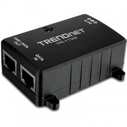 TRENDnet - TPE-113GI - TRENDnet TPE-113GI Gigabit Power over Ethernet (PoE) Injector - 1 10/100/1000Base-T Input Port(s) - 1 10/100/1000Base-T Output Port(s)