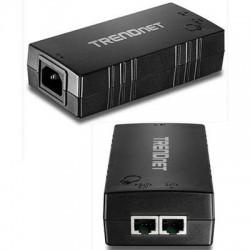 TRENDnet - TPE-115Gi - TRENDnet Gigabit PoE+ Injector - 110 V AC, 220 V AC Input - 1 10/100/1000Base-T Input Port(s) - 1 10/100/1000Base-T Output Port(s) - 30 W