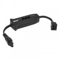 Tripp Lite - TRAVELERC6 - Tripp Lite Notebook In-Line Surge Protector 120V / 240V 2 C6 3-prong RJ45 - 2 x IEC 320-C6 - 306 J - 125 V AC, 250 V AC Input