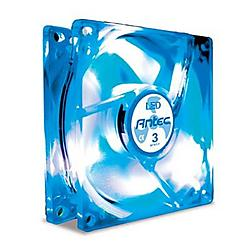 Antec - TRICOOL 120MM BLUE - Antec TriCool Blue LED FAN - 120mm - 2000rpm