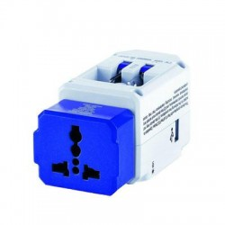 Conair - TS238AP - Travel Smart All-in-One Adapter with USB - AC Power, USB