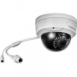 TRENDnet - TV-IP315PI - TRENDnet TV-IP315PI 4 Megapixel Network Camera - Color - 98.43 ft Night Vision - H.264+, Motion JPEG, H.264 - 1920 x 1080 - 4 mm - CMOS - Cable - Dome