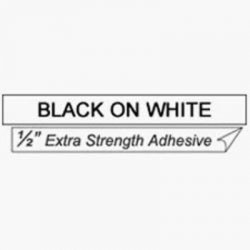"Brother International - TZS-231 - Brother P-Touch TZ-S231 Strong Adhesive Tape - 0.47"" Width x 26.25 ft Length - White"