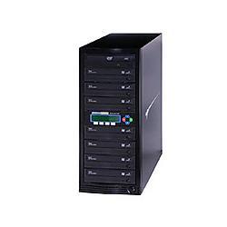 Kanguru - U2-DVDDUPE-S7 - Kanguru 1-to-7, 24x DVD Duplicator - Standalone - DVD-ROM, DVD-Writer - 24x DVD-R, 24x DVD R, 52x CD-R, 12x DVD R, 12x DVD-R - 22x DVD R/RW, 22x DVD-R/RW - USB, TAA Compliant