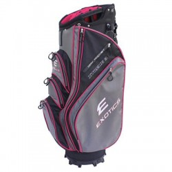 Tour Edge Golf - UBAEXCB36 - Exotics Xtreme 3 Carrying Case for Glove, Beverage, Garment, Umbrella, Towel - Black, Red, Charcoal - Water Proof Pocket - Carrying Strap, Handle