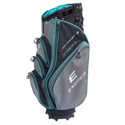 Tour Edge Golf - UBAEXCB38 - Exotics Xtreme 3 Carrying Case for Umbrella, Towel, Accessories, Golf, Garment, Bottle - Black, Charcoal, Teal - Water Proof Pocket - Handle, Carrying Strap