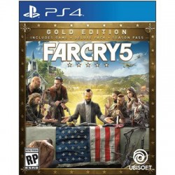 Ubisoft Entertainment - UBP30522104 - Ubisoft Far Cry 5 Steelbook Gold Edition - First Person Shooter - PlayStation 4