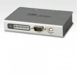 Aten Technologies - UC2324 - Aten UC2324 USB to Serial Hub - 4 x 9-pin DB-9 Male RS-232 Serial