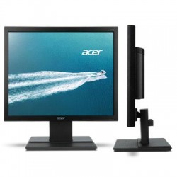 Acer - UM.BV6AA.002 - Acer V176L 17 LED LCD Monitor - 5:4 - 5 ms - Adjustable Display Angle - 1280 x 1024 - 16.7 Million Colors - 250 Nit - SXGA - VGA - 13 W - Black
