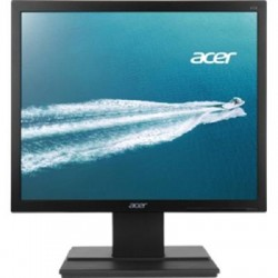 Acer - UM.CV6AA.006 - Acer V196L 19 LED LCD Monitor - 5:4 - 5 ms - Adjustable Display Angle - 1280 x 1024 - 16.7 Million Colors - 250 Nit - SXGA - DVI - VGA - 15.80 W - Black - EPEAT Gold, TCO