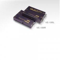 Aten Technologies - VE150 - Aten VE-150 VGA Extender/Console - 1 x 1, 1 - VGA, XGA, SVGA, SXGA - 492.13ft